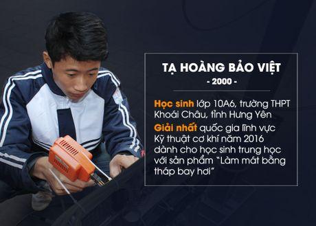 Nam sinh Hung Yen sang che may dieu hoa bao ve moi truong - Anh 1