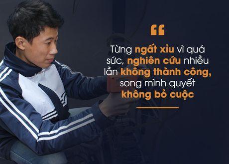 Nam sinh Hung Yen sang che may dieu hoa bao ve moi truong - Anh 2