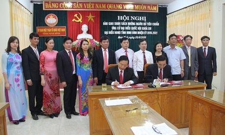 Danh sách ứng cử Đại biểu Quốc hội tại Ninh Bình có 3 giáo viên