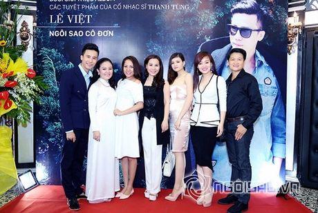 Nữ hoàng Doanh nhân Ngô Thị Kim Chi thanh lich du ra mat album tuong nho nhac si Thanh Tung - Anh 11