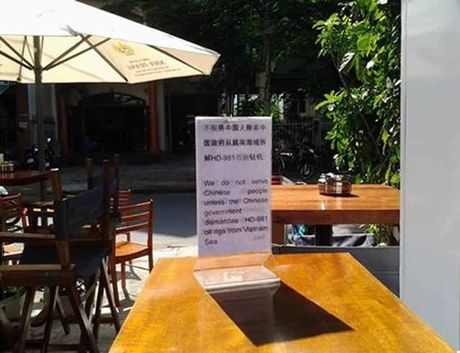 Nha Trang: Khach san thong bao 'Khong phuc vu khach Trung Quoc' - Anh 2