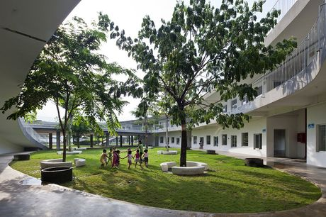 Truong mam non o Bien Hoa lot top 30 cong trinh dep nhat the gioi - Anh 10