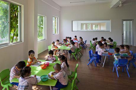 Truong mam non o Bien Hoa lot top 30 cong trinh dep nhat the gioi - Anh 7