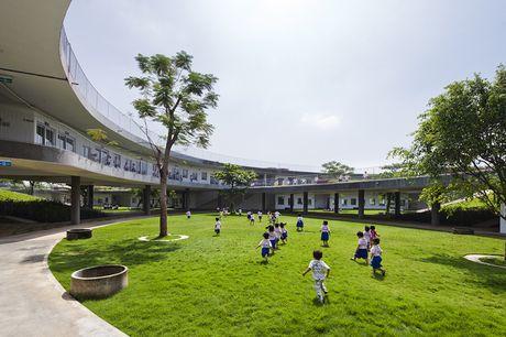 Truong mam non o Bien Hoa lot top 30 cong trinh dep nhat the gioi - Anh 8