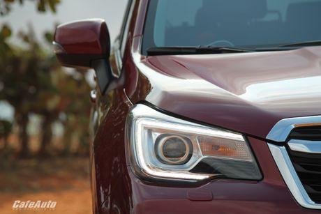 Danh gia Subaru Forester 2016: Thuc dung va hon the nua - Anh 7