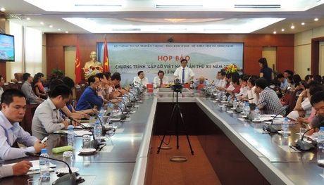 'Gap go Viet Nam lan thu XII': Noi hoi tu nhung nha khoa hoc hang dau - Anh 2