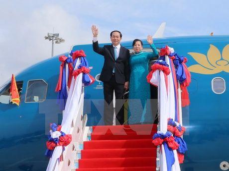Chuyen tham nuoc ngoai dau tien cua Chu tich nuoc - Anh 1
