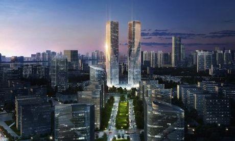 Dự án tháp đôi nổi bật – Biểu tượng mới của thành phố Hàng Châu