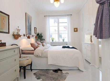 Những ý tưởng thông minh giúp nới rộng phòng ngủ nhỏ