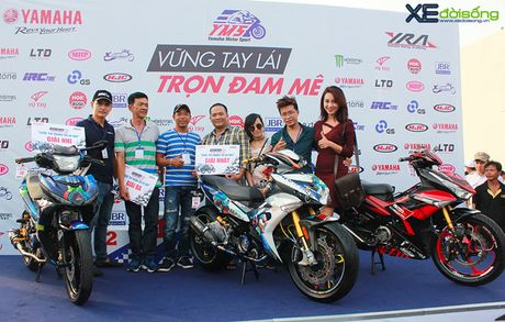 Yamaha Exciter do 15.000USD gianh giai nhat tai Y-Motor Sport - Anh 11