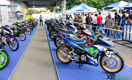 Yamaha Exciter do 15.000USD gianh giai nhat tai Y-Motor Sport - Anh 1