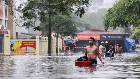 Miền Bắc sắp mưa to, Hà Nội khả năng ngập úng