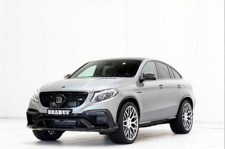 """""""Sốc"""" với gói độ Brabus tiền tỷ cho Mercedes-AMG GLE 63"""