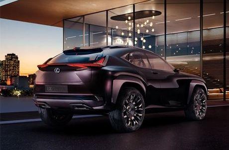 Rò rỉ ảnh chiếc Lexus UX Concept tại Nhật Bản
