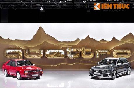 Điểm mặt 12 xe sang Audi Việt Nam mang đến VIMS 2016