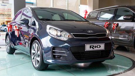 Chọn xe nào trong 4 mẫu Kia Rio, Toyota Vios, Honda City, Mazda 2