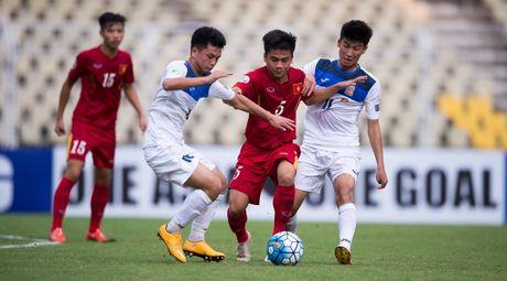 DT U16 Viet Nam vao tu ket Giai vo dich U16 chau A - Anh 1