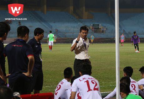Thua tham U19 Australia, HLV Hoang Anh Tuan chi trich hoc tro - Anh 1