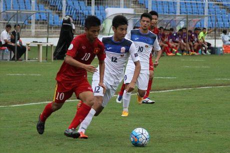 U16 Viet Nam xuat sac gianh ve vao Tu ket giai U16 chau A 2016 - Anh 1