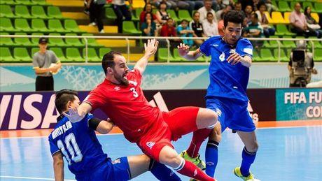 Futsal World Cup 2016: Thai Lan roi giai bang tran cau sieu kich tinh - Anh 1