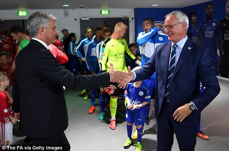Claudio Ranieri da deu thay tro Jose Mourinho truoc dai chien - Anh 1