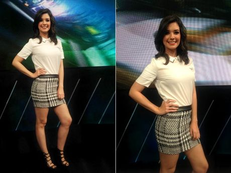 Pilar Perez - Nang MC the thao co nu cuoi toa nang hut hon - Anh 3