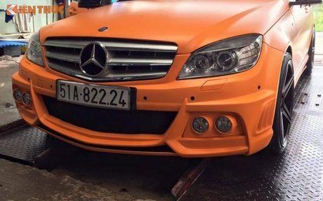 """Ca sy Tuan Hung """"do"""" Mercedes-Benz C200 mau cam noi bat - Anh 4"""