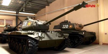 Bat ngo: Xe tang M41 cua Viet Nam tai xuat - Anh 7
