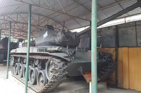 Bat ngo: Xe tang M41 cua Viet Nam tai xuat - Anh 9
