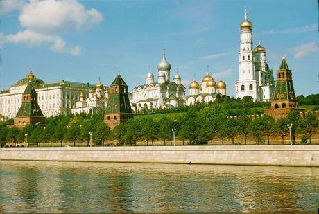 Loat anh cuc dep ve Moscow nam 1956 cua pho nhay Phap (1) - Anh 1