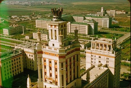 Loat anh cuc dep ve Moscow nam 1956 cua pho nhay Phap (1) - Anh 5