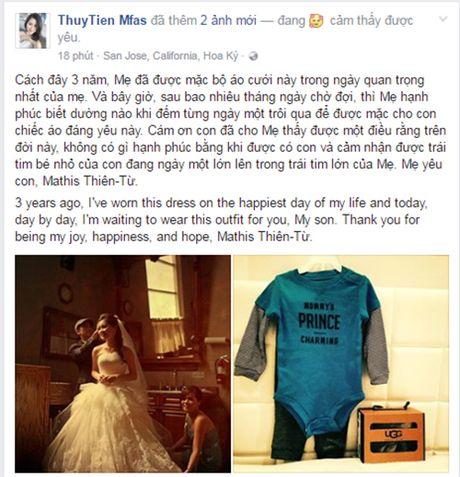 Vo Dan Truong mang thai sau 3 nam ket hon - Anh 2