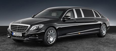 Sieu xe chong dan Mercedes-Maybach S600 Pullman co gia 1,56 trieu USD - Anh 1