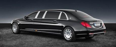 Sieu xe chong dan Mercedes-Maybach S600 Pullman co gia 1,56 trieu USD - Anh 2