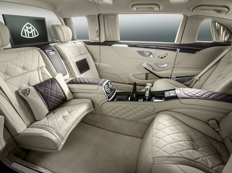 Sieu xe chong dan Mercedes-Maybach S600 Pullman co gia 1,56 trieu USD - Anh 3