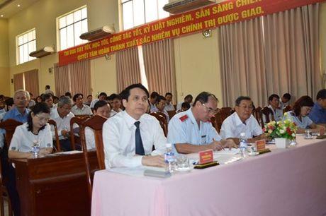 Khai mac Hoi nghi trien khai cong tac thanh tra nam hoc 2016-2017 - Anh 1