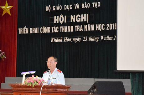 Khai mac Hoi nghi trien khai cong tac thanh tra nam hoc 2016-2017 - Anh 2