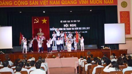 Khai mac Hoi nghi trien khai cong tac thanh tra nam hoc 2016-2017 - Anh 3