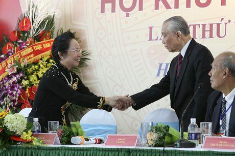 Nguyen Pho Chu tich nuoc Nguyen Thi Doan lam Chu tich Hoi Khuyen hoc Viet Nam - Anh 1