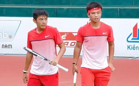 Ly Hoang Nam lan dau vao ban ket don nam giai Men's Futures - Anh 1