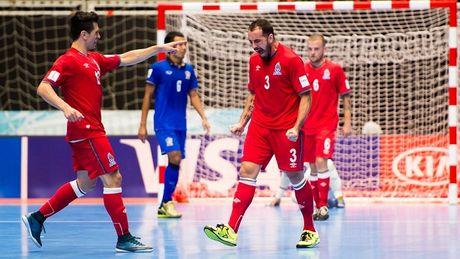 Futsal World Cup: Thai Lan bi loai voi ty so khong tuong - Anh 1