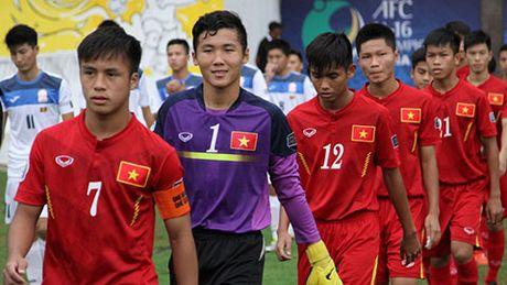 Nhin U16 Viet Nam, nho Van Quyen va dong doi - Anh 1