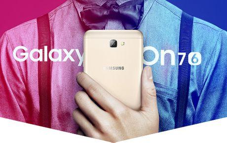 Samsung Galaxy On7 (2016): nang cap dang ke voi 5,5' 1080p, cam bien van tay, RAM 3 GB, gia ~240 USD - Anh 8