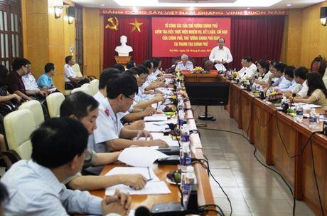 Thanh tra Chinh phu con 23 nhiem vu qua han chua hoan thanh - Anh 1