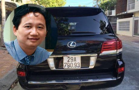 Ky luat dai ta cap bien xanh cho xe ong Trinh Xuan Thanh - Anh 1
