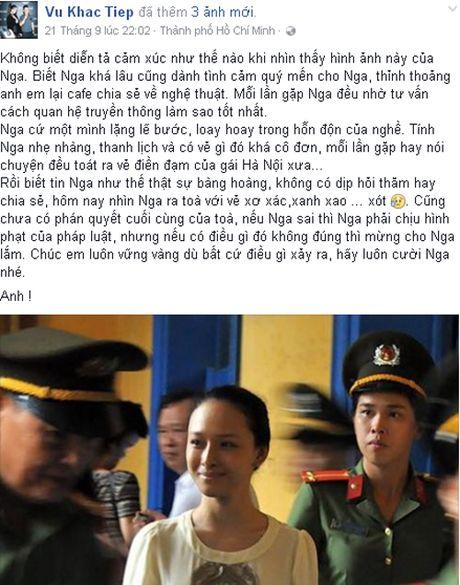 Nhan vu an Hoa hau Phuong Nga, ca si My Linh noi ve tinh va tien - Anh 2
