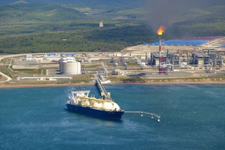 Gazprom phat hien mo khi dot 'khung' o bien Okhotsk - Anh 1