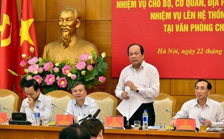 """Bo truong Mai Tien Dung: """"Van ban mat nhieu qua"""" - Anh 1"""