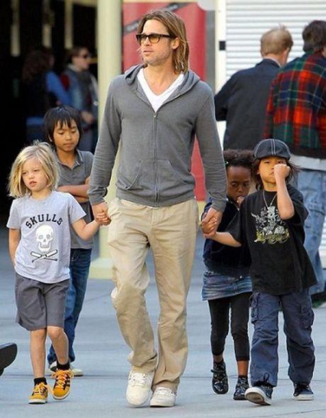 """Bi Angelina Jolie """"da"""", Brad Pitt vuong vao cuoc dieu tra bao hanh gia dinh - Anh 1"""