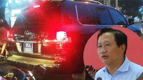 """Dai ta cap bien so xanh cho Trinh Xuan Thanh bi ky luat """"khien trach"""" - Anh 1"""